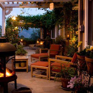 Backyard: Outdoor Rooms, Outdoor Living, Outdoor Patio, Outdoor Spaces, House Idea, Patio Ideas, Fire Pit