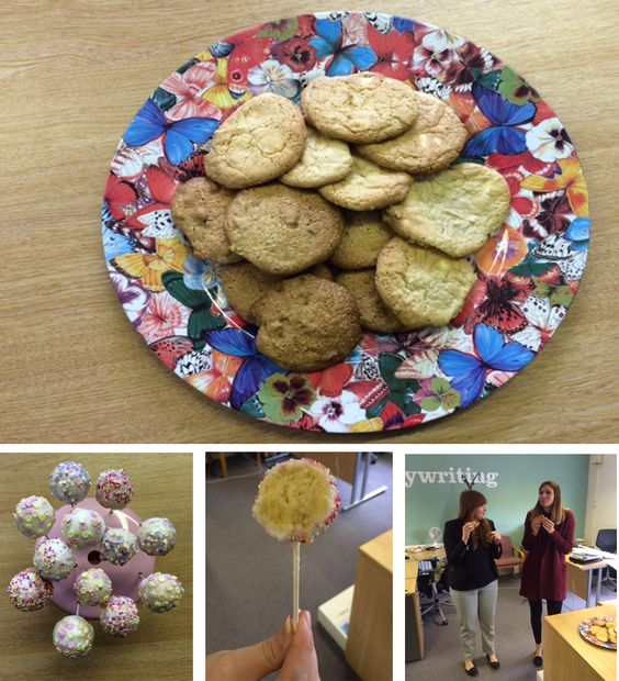 It's Thursday which can only mean one thing…it's The Great CFA Bake Off!! Today saw sibling rivalry hit new heights with Kelly, our Senior Account Manager, go against her sister and Social Media Executive Sophie. It was cookies vs cake pops with Kelly's melt in your mouth cookies being victorious. Congratulations Kelly and good luck for the semi-final!