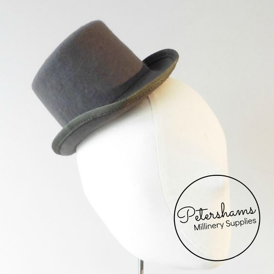 Wool Mini Top Hat Fascinator Base