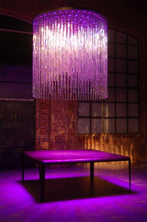 lamps & lights & lightting - Swarovski Crystal Cascading Light