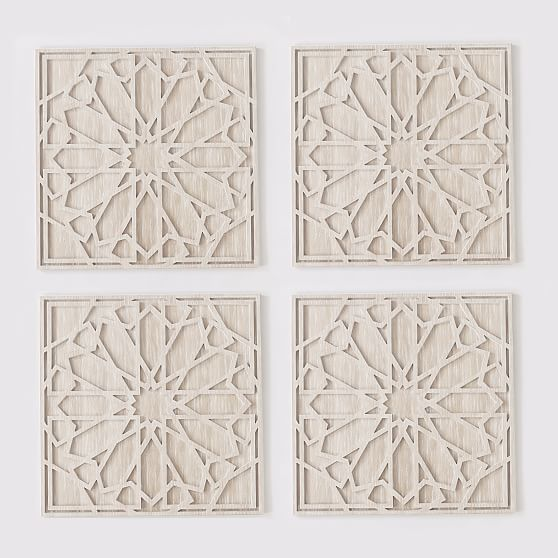 Graphic Wood Wall Art Whitewashed Square In 2021 Wood Wall Stone Wall Design Wood Wall Art
