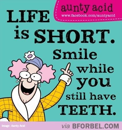 Smile While You Have It…