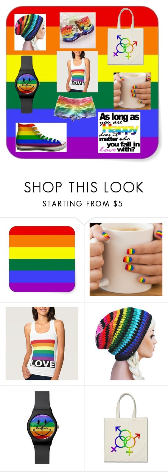 """""""Love"""" by its-were-my-demons-hide ❤ liked on Polyvore featuring Baggins, love and lgbt"""