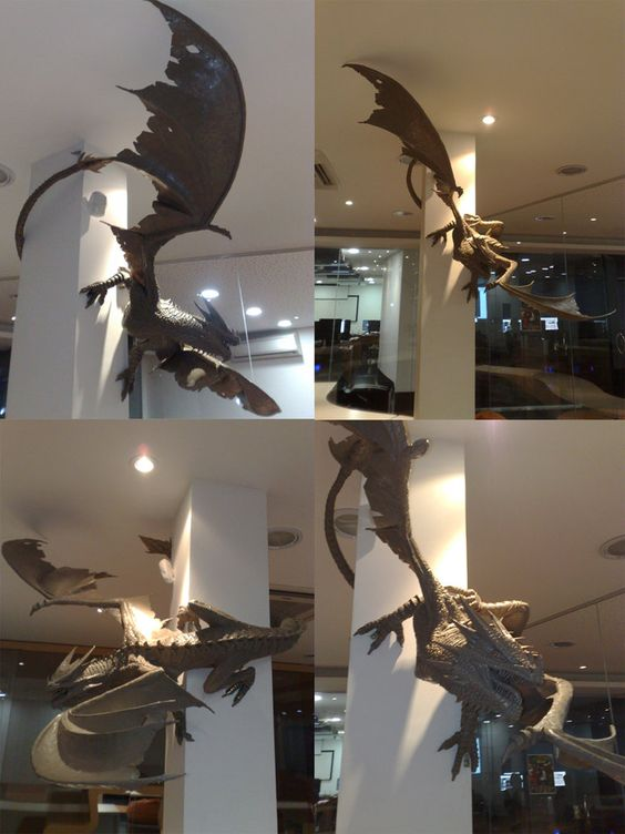 Dragon My House And Sculpture On Pinterest