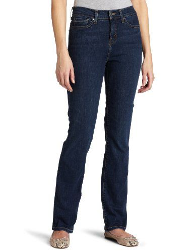Levi`s 512 Misses Perfectly Slimming Straight Leg Jean with Tummy Slimming Panel
