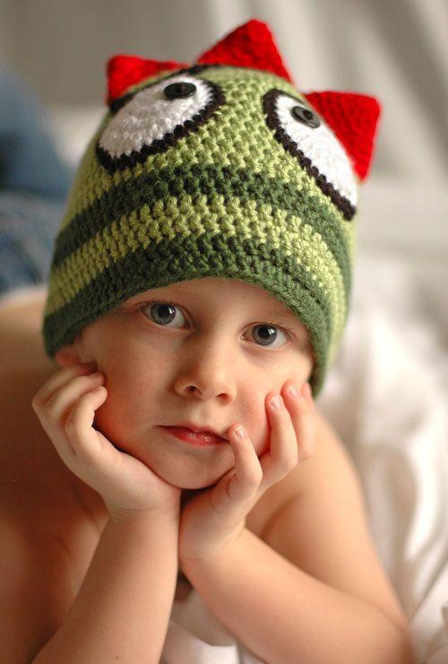 Brobee from Yo Gabba Gabba - Inspired Crocheted Hat