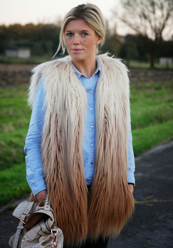 Mirror of Fashion: OUTFIT OF THE DAY // FAUX FUR SURE