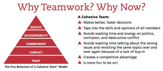Book: five dysfunction of a team