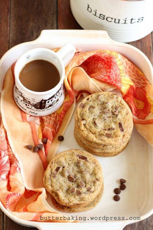 Espresso and chocolate chip cookies...how can you go wrong?!