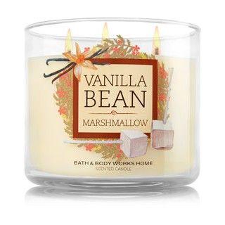 Bougie 3 meches Vanilla Bean Noel