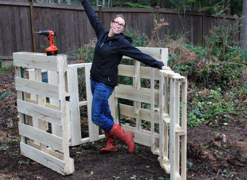how to make compost from wood chips