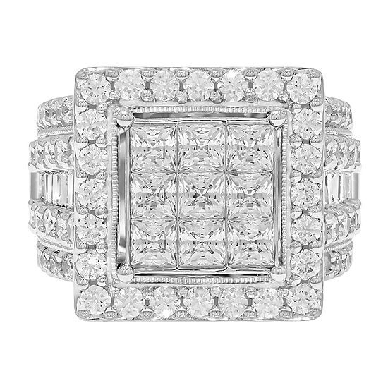 Jcpenney 3 Ct T W Diamond Engagement Ring Stone Engagement Rings Engagement Rings Engagement Ring Sizes