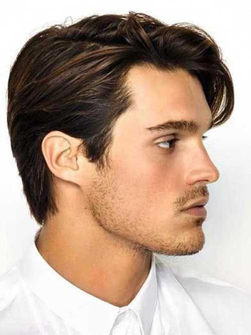 Peinados De Hombre Pelo Medio Largo