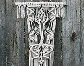 Macramé Wall Hanging by FreeCreatures on Etsy