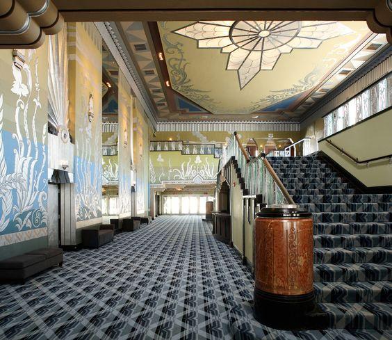 Art Déco - The Martin Woldson Theater - Spokane - Washigton - Robert C. Reamer - Ouvert en 1931 et Rénové en 2007