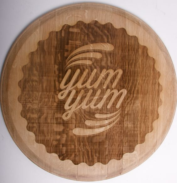 Wood Typo Ben Johnston