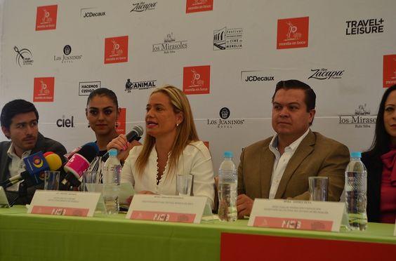 La Secretaria de Turismo de Morelia, Thelma Aquique, asistió a la rueda de prensa en donde se dio a conocer el festival gastronómico Morelia en Boca que se llevará a ...