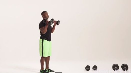 The Smart #Dumbbell #Complex (#Video). Follow along as #fitness model Frank Jones demonstrates the back-to-back exercises in our dumbbell complex #workout.