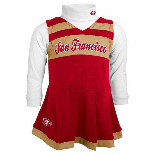 San Francisco 49ers Cheerleader Costume