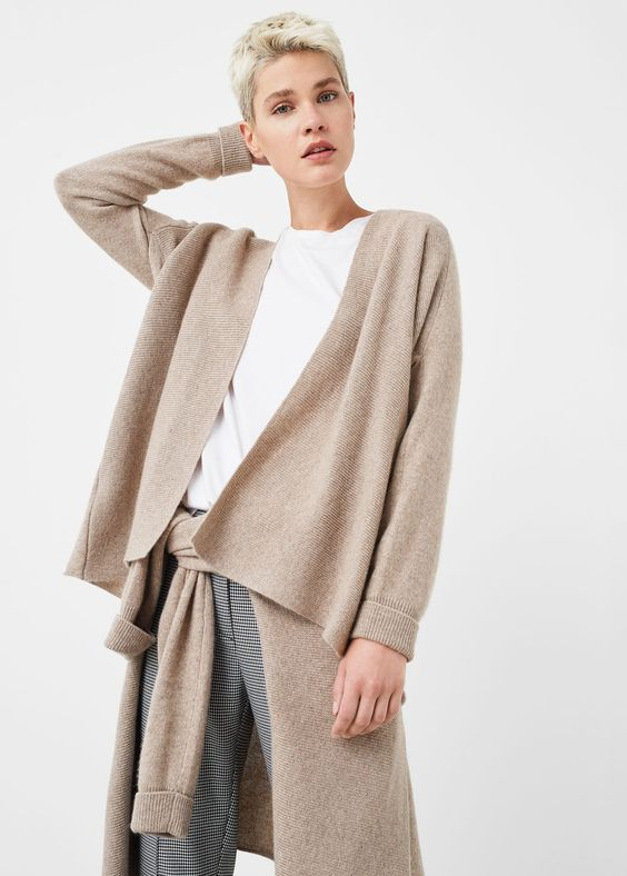 100% cashmere cardigan - Cardigans and sweaters for Woman | MANGO Finland