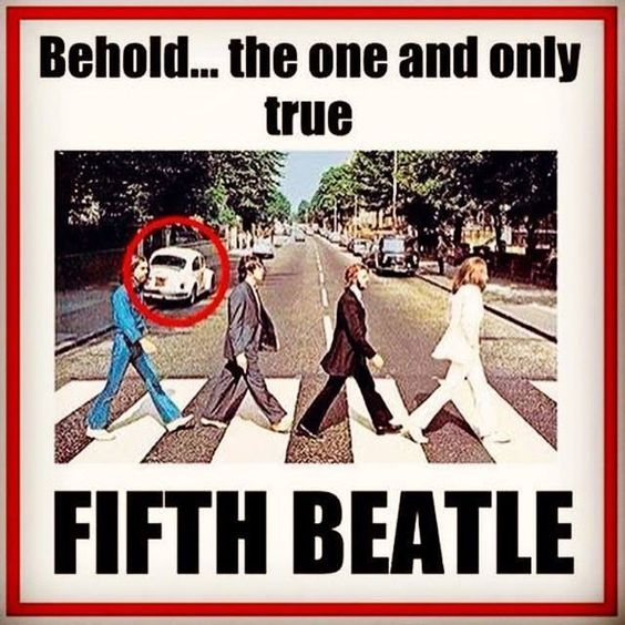 Behold, the one and only true FIFTH BEATLE - Imgur