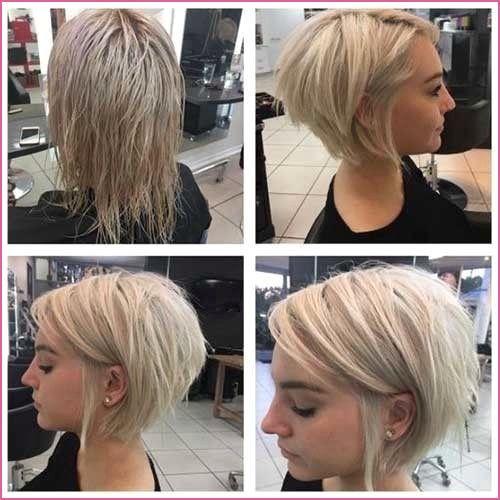 Freche Kurzhaarfrisuren Damen Undercut Hair Styles Thin Fine Hair Thick Hair Styles