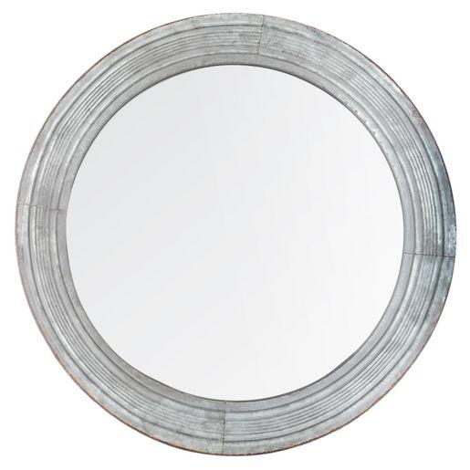 Ce Miroir Gris Bleu Simple Est L Accessoire Ideal Pour Completer Un Interieur Scandinave En Apportant Un Peu De Lumier En 2020 Miroir Gris Miroir Interieur Scandinave