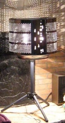 Tambour lave linge en lampe tambour issue lave linge hublot vous avez d tourn un meuble - Meuble tambour machine a laver ...