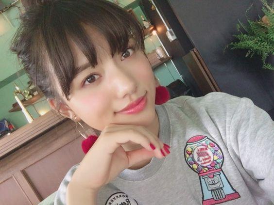 清原果耶のイラストシャツ