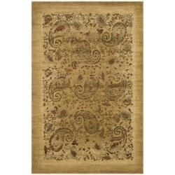 @Overstock.com - Lyndhurst Collection Paisley Beige/ Multi Rug (3' 3 x 5' 3) - Complement any room's design with this attractive beige rug. The synthetic and enhanced polypropylene pile adds a rugged durability that extends the life of this rug, and the subtle pattern is both complex and understated.  http://www.overstock.com/Home-Garden/Lyndhurst-Collection-Paisley-Beige-Multi-Rug-3-3-x-5-3/5034108/product.html?CID=214117 $39.18