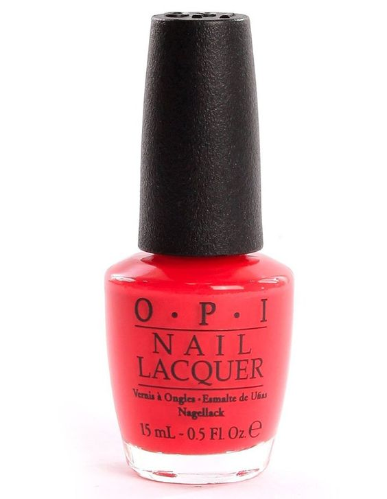Pin for Later: 10 OPI Polish Colors Every Nail Junkie Should Try OPI Nail Lacquer in Cajun Shrimp