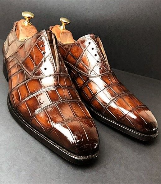 Alligator Shoes and Crocodile Shoes