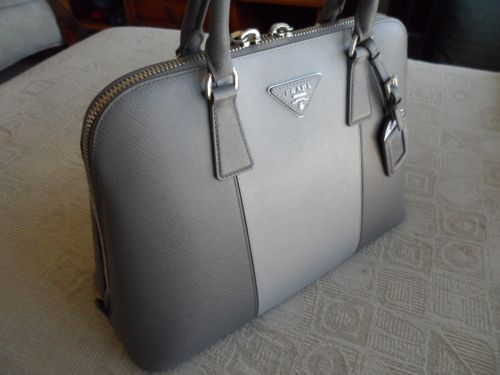 aaa replica handbags suppliers - PRADA Purse Saffiano Open Top BL836C Marmo & Nube Color BRAND NEW ...