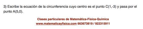 Circunferencia 3