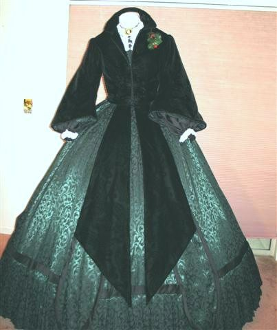 Scarlett train depot jacket and dress Gone With the Wind Special