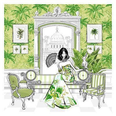 A Library of Design: Glamorous Gardenalia