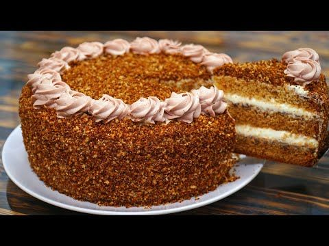 торт идиллия потрясающий торт на любой праздник медовик рецепт кулинарим с таней Youtube еда на рождество идеи для блюд рецепты выпечки
