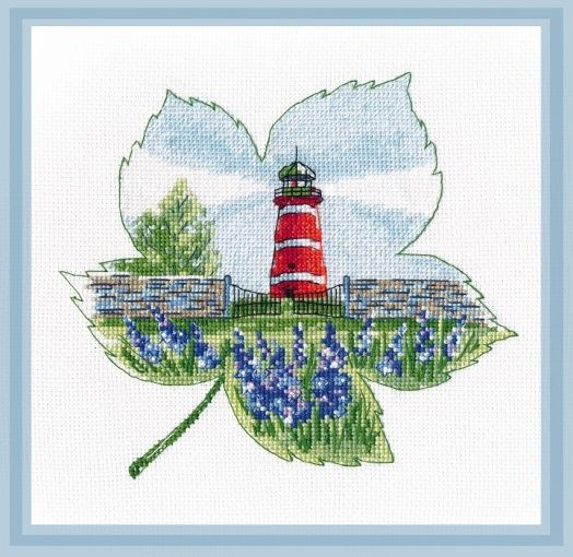 Dimensions Needlecrafts Needlepoint Lighthouse Cove