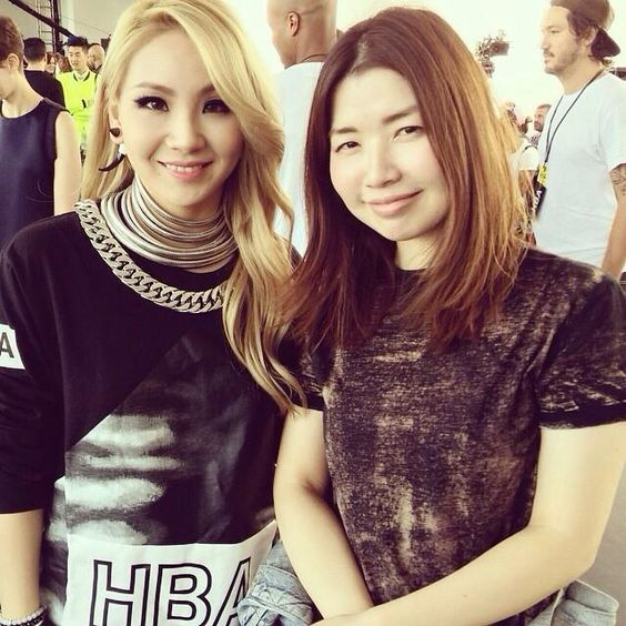 CL and Rie Kamoi | misskmre's photo