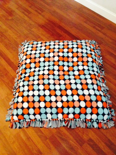 No Sew Floor Pillow Dog beds, Plaid and Tans