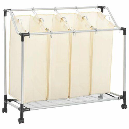 4 Bag Laundry Sorter Rebrilliant Laundry Sorter Bags Home Decor