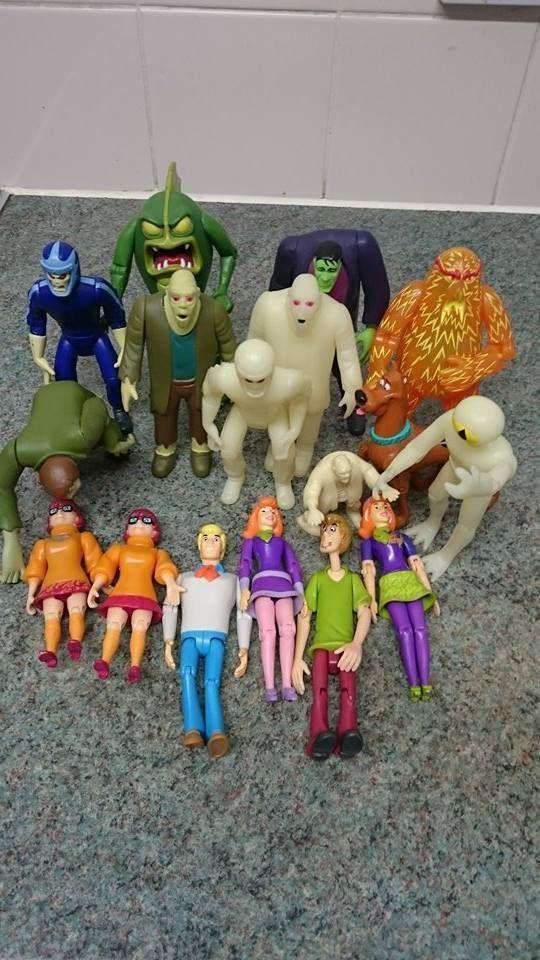 Best Scooby Doo Toys For Kids : Scooby doo characters action figures monsters villians