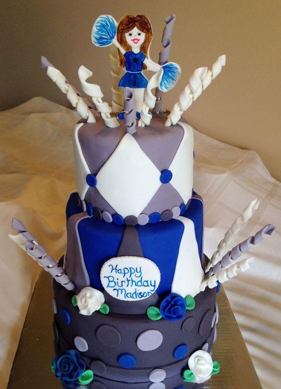 Cheerleader Cake Story