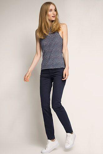 edc - Hose aus Baumwoll-Stretch im Online Shop kaufen