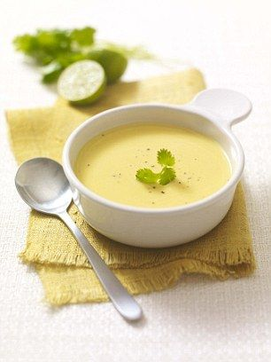 Butternut squash soup could help calm allergies