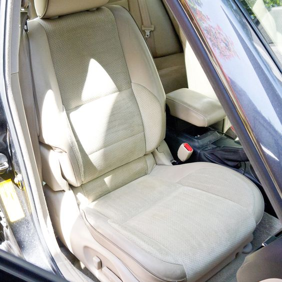 How to Clean Car Seats - I'll need this after Ollie's been in it!