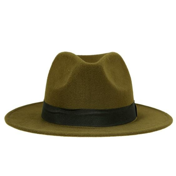 Hot sale cheap unisex wool fedora hats mens fedora hat women
