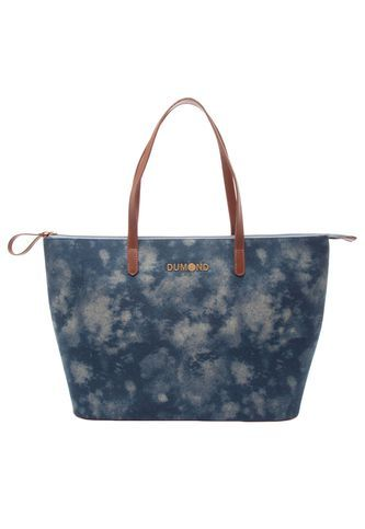 Bolsa Dumond Jeans Azul