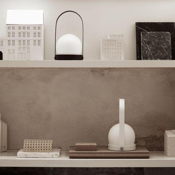 top3 by design - Menu - menu | carrie led lamp | white