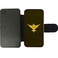 Cheap Pokemon Go - Team Instinct Dark Wallet Phone Case Samsung Galaxy S3 sale